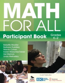 Math for All Participant Book (K-2), Paperback / softback Book