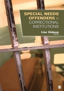 Special Needs Offenders in Correctional Institutions, Paperback / softback Book