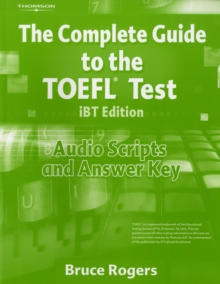 Complete Guide to TOEFL Audio Scripts with Answer Key, Paperback / softback Book