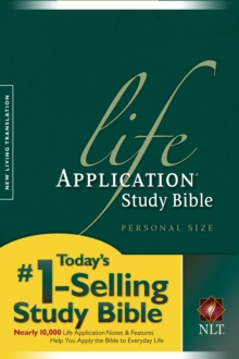 NLT Life Application Study Bible, Paperback Book