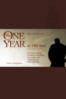 The One Year at His Feet Devotional, Leather / fine binding Book