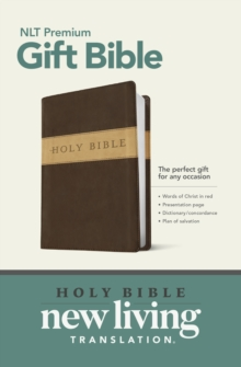 Premium Gift Bible, Leather / fine binding Book
