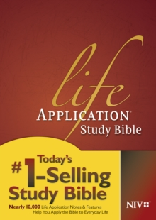 Life Application Study Bible NIV, Hardback Book