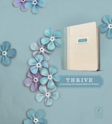THRIVE (Hardcover Fabric, Blue/Cream Shabby Chic), Hardback Book