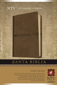 Santa Biblia NTV, Edicion de referencia ultrafina, Leather / fine binding Book