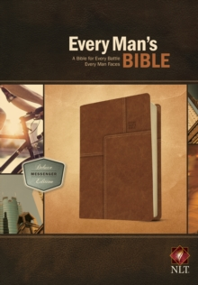 Every Man's Bible-NLT Deluxe Messenger, Leather / fine binding Book