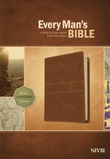 Every Man's Bible NIV, Deluxe Journeyman Edition (LeatherLike, Tan), Leather / fine binding Book