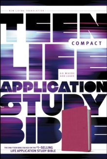 Teen Life Application Study Bible-NLT-Compact, Leather / fine binding Book