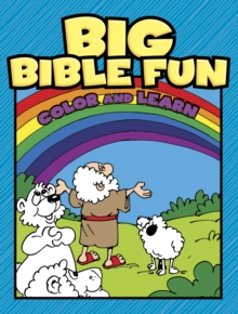 Big Bible Fun Color and Learn, Paperback Book