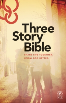 Three Story Bible NLT, Paperback Book