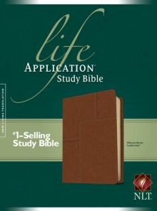Life Application Study Bible NLT, Leather / fine binding Book