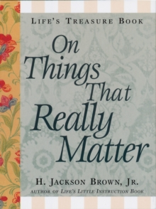 Life's Little Treasure Book on Things that Really Matter, EPUB eBook