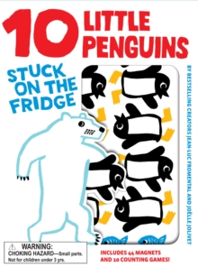 10 Little Penguins Stuck on the Fridge, Hardback Book