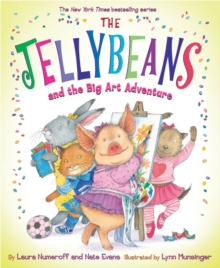 Jellybeans and the Big Art Adventure, Hardback Book