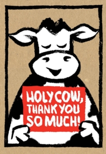 Holy Cow: Thank You So Much! (Thank-You Cards), Cards Book