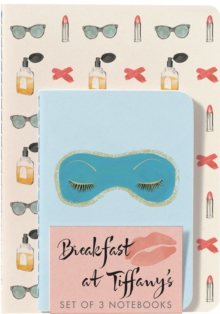 Breakfast at Tiffany's Notebooks (Set of 3), Paperback Book