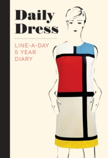 Daily Dress (Guided Journal) : A Line-A-Day 5 Year Diary, Notebook / blank book Book