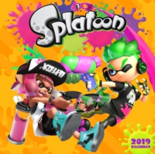 Splatoon 2019 Wall Calendar, Calendar Book