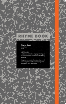 Rhyme Book: A lined notebook with quotes, playlists, and rap stat, Paperback / softback Book