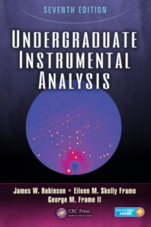 Undergraduate Instrumental Analysis, Mixed media product Book