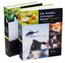 The Wildlife Techniques Manual : Volume 1: Research. Volume 2: Management 2-vol. set 2-vol. set, Hardback Book