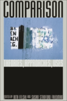 Comparison : Theories, Approaches, Uses, Paperback Book