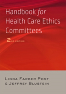 Handbook for Health Care Ethics Committees, Paperback Book
