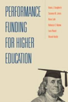 Performance Funding for Higher Education, Paperback / softback Book