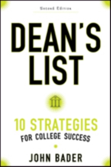 Dean's List : Ten Strategies for College Success, Paperback / softback Book