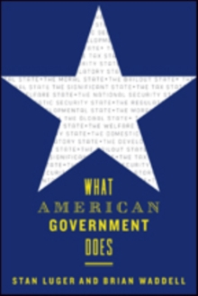 What American Government Does, Paperback / softback Book