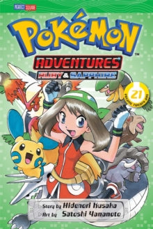Pokemon Adventures (Ruby and Sapphire), Vol. 21, Paperback Book