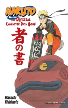 Naruto: The Official Character Data Book, Paperback Book