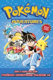 Pokemon Adventures Red & Blue Box Set : Set includes Vol. 1-7, Paperback / softback Book