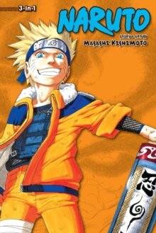 Naruto (3-in-1 Edition), Vol. 4 : Includes vols. 10, 11 & 12, Paperback Book