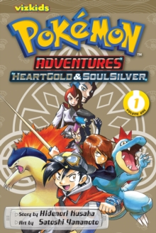 Pokemon Adventures: Heart Gold Soul Silver, Vol. 1, Paperback Book
