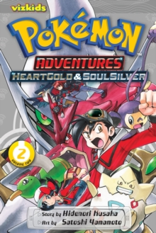 Pokemon Adventures: Heart Gold Soul Silver, Vol. 2, Paperback Book