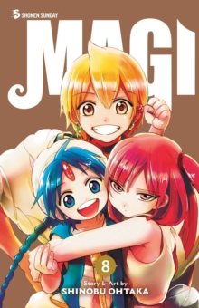 Magi: The Labyrinth of Magic, Vol. 8, Paperback / softback Book