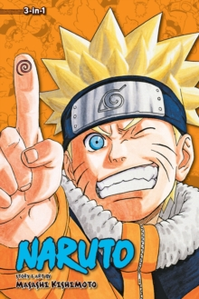 Naruto (3-in-1 Edition), Vol. 8 : Includes vols. 22, 23 & 24, Paperback Book