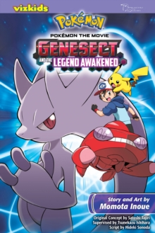 Pokemon the Movie: Genesect and the Legend Awakened, Paperback Book