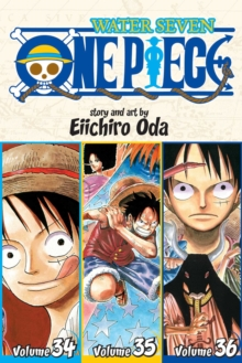One Piece: Water Seven 34-35-36, Vol. 12 (Omnibus Edition), Paperback Book