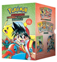 Pokemon Adventures Fire Red & Leaf Green / Emerald Box Set : Includes Volumes 23-29, Paperback Book