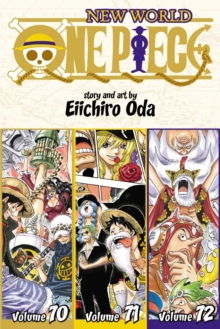 One Piece (Omnibus Edition), Vol. 24 : Includes vols. 70, 71 & 72, Paperback / softback Book
