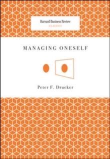 Managing Oneself, Paperback Book