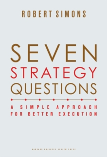 Seven Strategy Questions : A Simple Approach for Better Execution, EPUB eBook