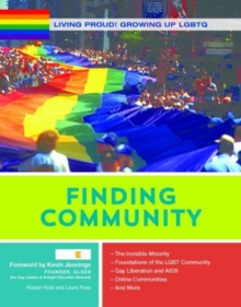 Finding Community - Growing Up LGBTQ, Hardback Book