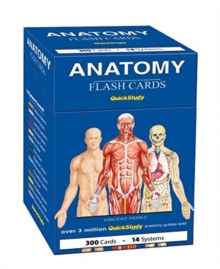 Anatomy Flash Cards : a QuickStudy reference tool, Cards Book