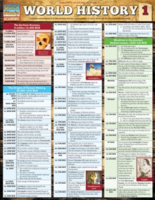 World History 1, Fold-out book or chart Book