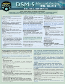 DSM 5 Medical Coding : a QuickStudy Reference Tool, Fold-out book or chart Book