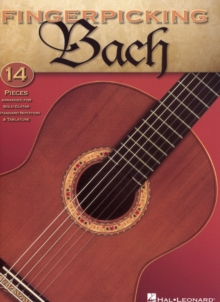 Fingerpicking Bach, Paperback Book