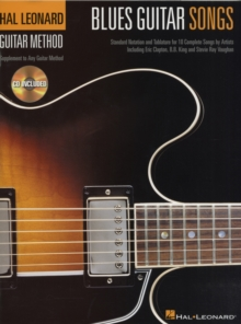 Hal Leonard Guitar Method : Blues Guitar Songs (TAB), Paperback / softback Book